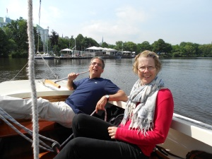 Sailing- a perfect restful activity