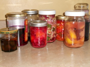 My current selection of fabulous ferments