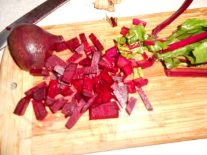 Use the whole beet-- it's all good!