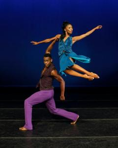 Ailey dancers: all that stretching (and training!) paid off for these awesome dancers