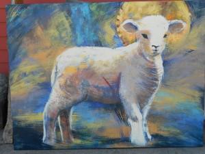 painting by Mollie Walker Freeman