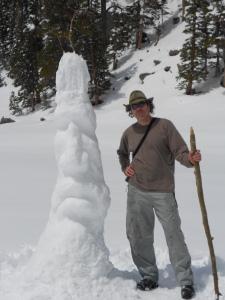 Scott's snow art