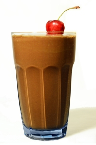 The perfect blend: my chocolate green smoothie