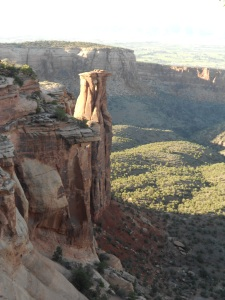 Colorado National Monument- This is one of many glorious views.