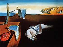 Dali's famous melting clocks