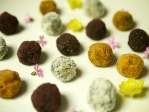 "Julie Montague's Rose Truffles - check out her blog ""The Flexie Foodie,"" on WordPress"