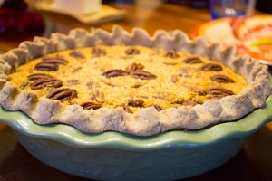 My new pecan pie!