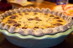 My new pecan pie!